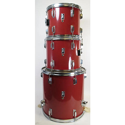 In Store Used Used Thor 4 piece Beginner Kit Red Drum Kit