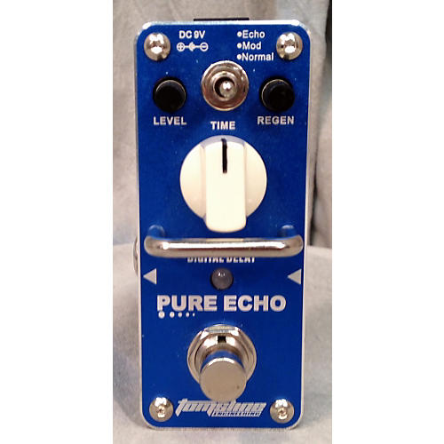 In Store Used Used Tom's Line Engineering Pure Echo Effect Pedal