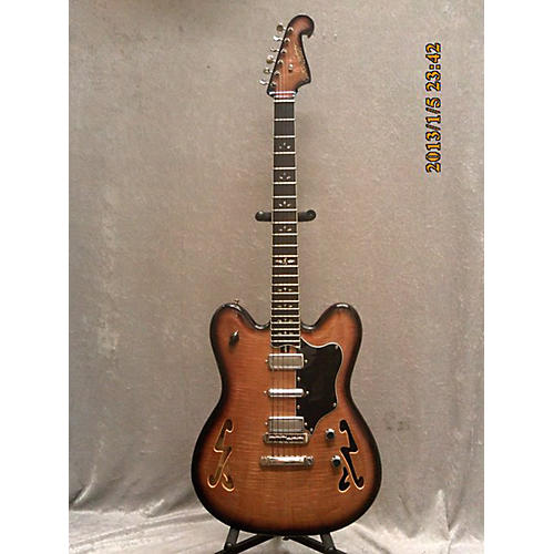 In Store Used Used Tonesmith 320 Quilted Burst Hollow Body Electric Guitar