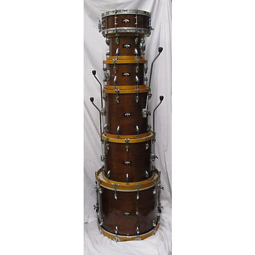 In Store Used Used Tubbs 6 piece Custom Natural Drum Kit