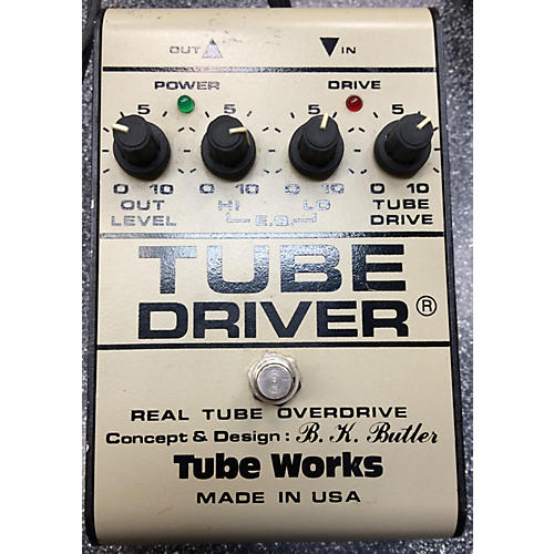 In Store Used Used Tubeworks BK BUTLER TUBE DRIVER Effect Pedal