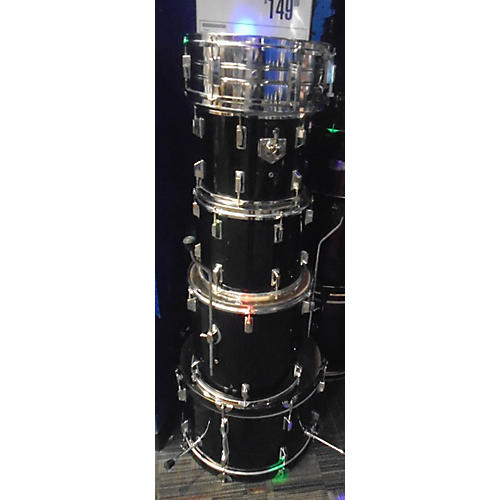In Store Used Used Turbo 5 piece Sunlight Black Drum Kit
