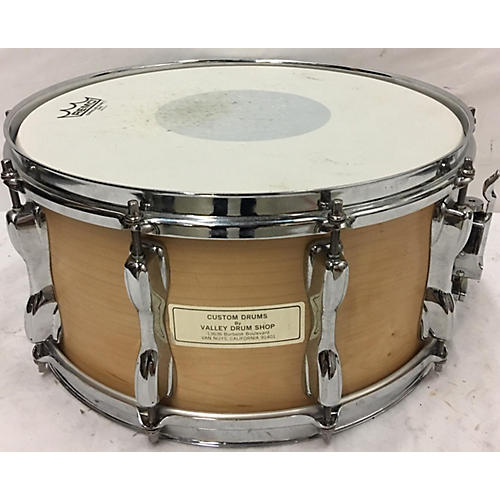 In Store Used Used VALLEY DRUM SHOP 6.5X14 CUSTOM SNARE DRUM Drum Natural