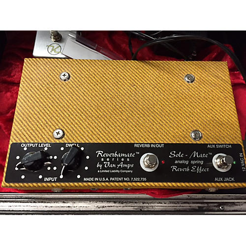 In Store Used Used VANAMPS SOLE-MATE REVERB Effect Pedal