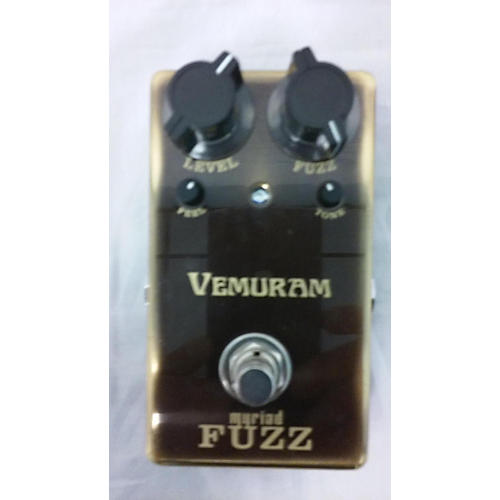 used vemuram myriad fuzz effect pedal guitar center. Black Bedroom Furniture Sets. Home Design Ideas