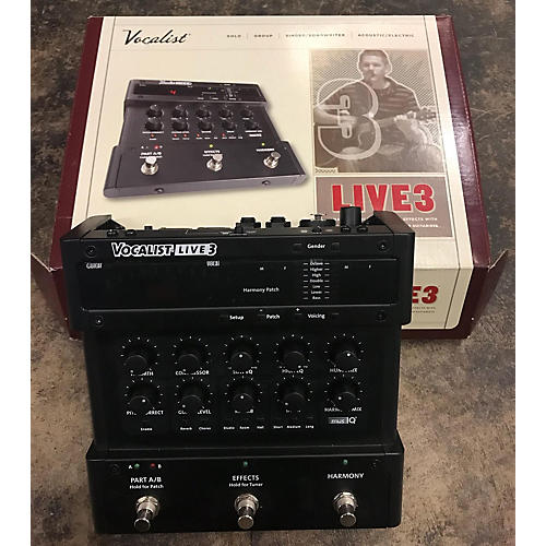 In Store Used Used VOCALIST LIVE3 Effect Pedal