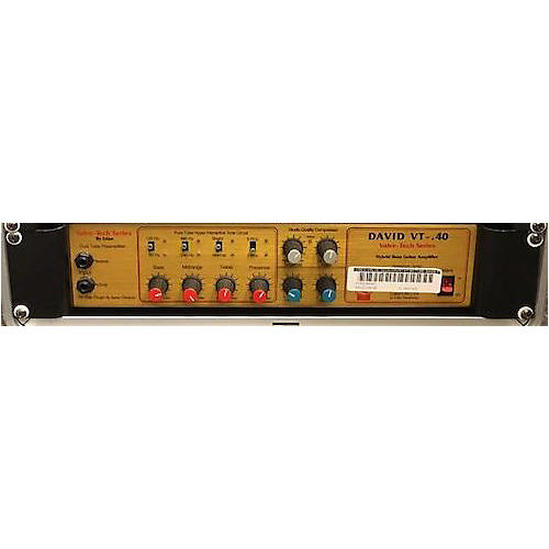 In Store Used Used Valve-Tech David VT-40 Tube Bass Preamp