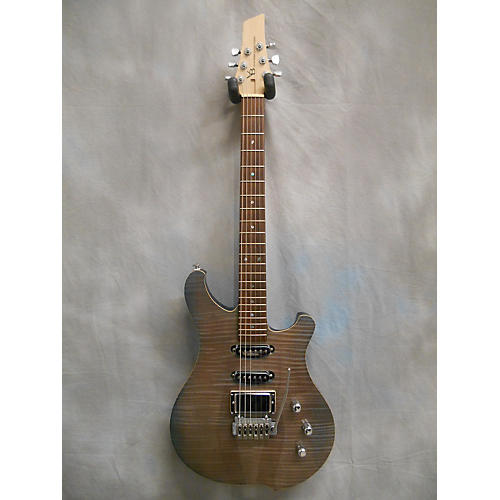 In Store Used Used Victor Baker Custom HSS Double Cut Trans Gray Solid Body Electric Guitar