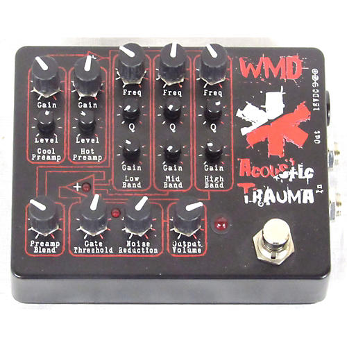 In Store Used Used WMD Acoustic Trauma Effect Pedal