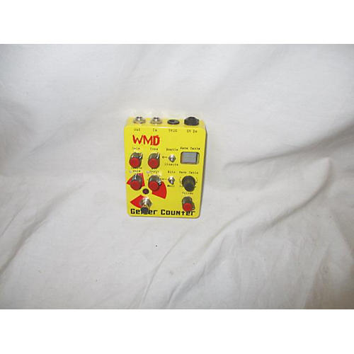 In Store Used Used WMDevices Geiger Counter Distortion / Fuzz / Bitcrusher Effect Processor