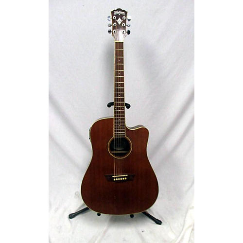 In Store Used Used Wasburn WD23WSCE Antique Natural Acoustic Guitar