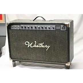 used westbury model 1000 guitar combo amp guitar center. Black Bedroom Furniture Sets. Home Design Ideas