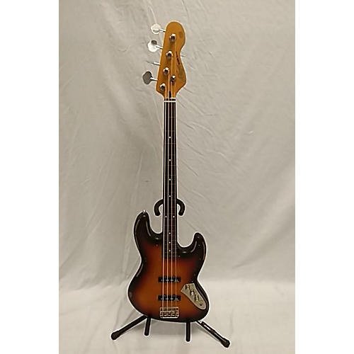 In Store Used Used Wilkinson V96 2 Color Sunburst Electric Bass Guitar