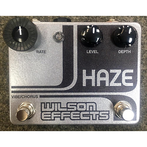 In Store Used Used Wilson Effects Haze Chorus Effect Pedal