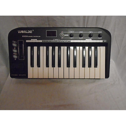 In Store Used Used Worlde Ks25a MIDI Controller