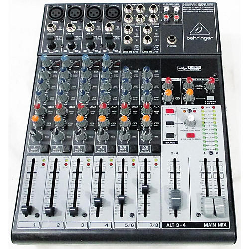 used xenyx 12040usb powered mixer guitar center. Black Bedroom Furniture Sets. Home Design Ideas