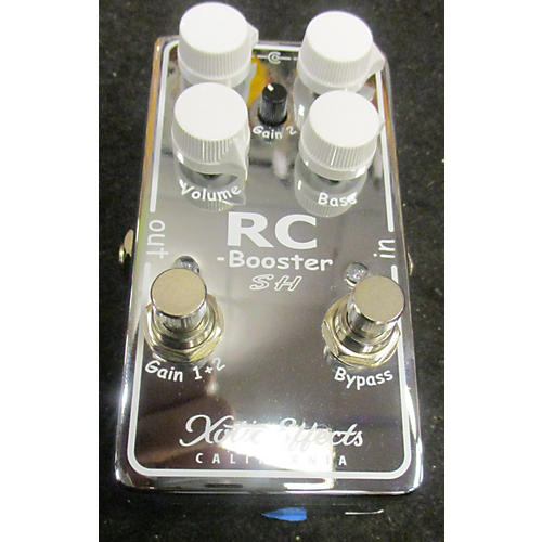 In Store Used Used XOTIC EFFECTS RC BOOSTER Pedal