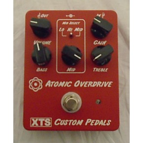 used xts custom pedals atomic overdrive effect pedal guitar center. Black Bedroom Furniture Sets. Home Design Ideas