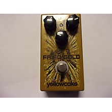 Used YELLOWCAKE FRIED GOLD Effect Pedal