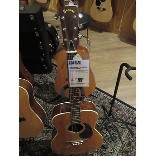 In Store Used Used Yasuma F-81 Natural Acoustic Guitar