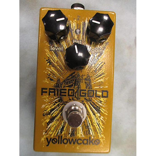 In Store Used Used Yellowcake Fried Gold Effect Pedal