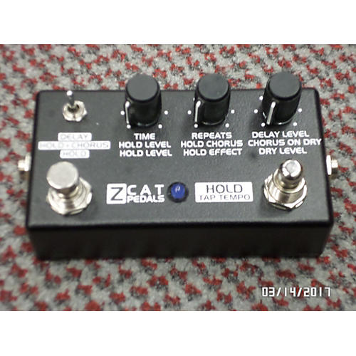 In Store Used Used Z CAT HOLD DELAY Effect Pedal