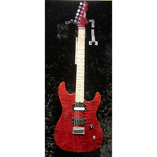 In Store Used Used ZANE PCSD CUSTOM Trans Red Solid Body Electric Guitar