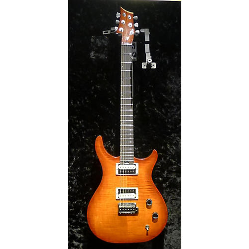 In Store Used Used ZANE ZCT CUSTOM CARVED TOP Trans Orange Solid Body Electric Guitar