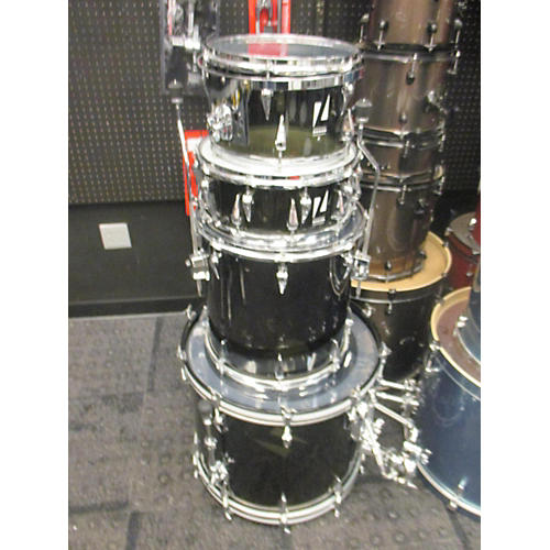 In Store Used Used Zickos 2005 4 Piece Artistry Acrylic Trans Charcoal Drum Kit