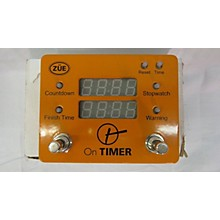 Used Zue On Timer Pedalboard Clock Metronome