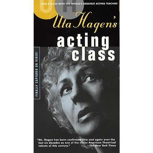 Applause Books Uta Hagen's Acting Class (Two-Video Set) Applause Books Series Video