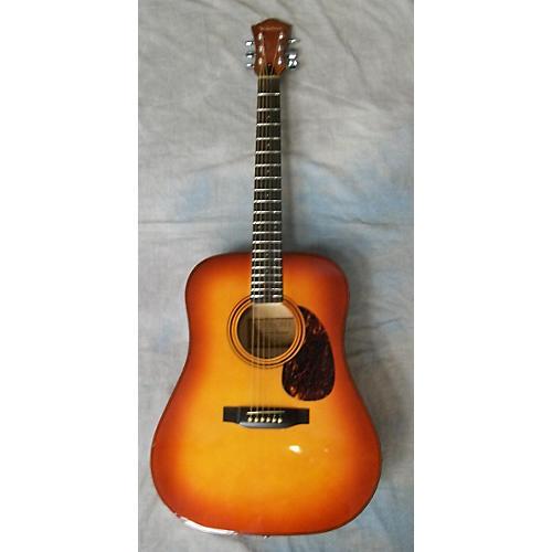 In Store Used V-21 Cherry Sunburst Acoustic Guitar