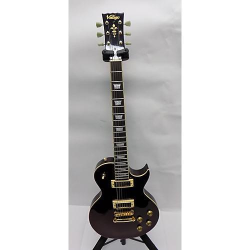 Vintage V100WR Solid Body Electric Guitar