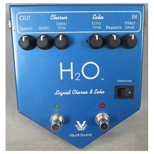 Visual Sound V2H2O V2 H2O Liquid Chorus Echo Effect Processor