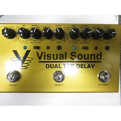 Visual Sound V3DTD Dual Tap Delay Effect Pedal