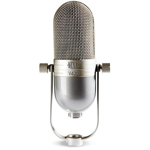 mxl v400 dynamic microphone in a vintage style body guitar center. Black Bedroom Furniture Sets. Home Design Ideas