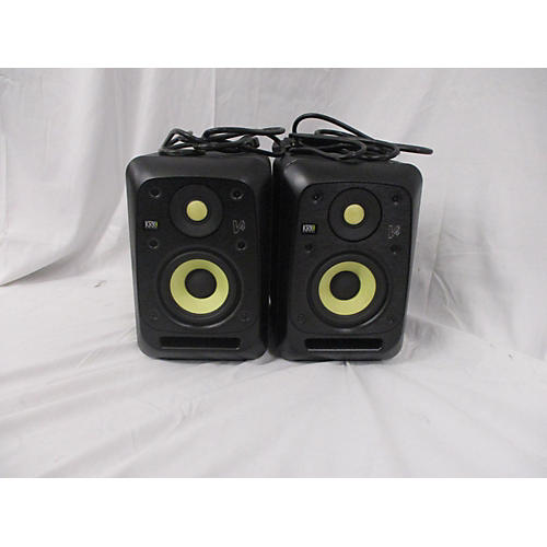 used krk v4s4 pair powered monitor guitar center. Black Bedroom Furniture Sets. Home Design Ideas