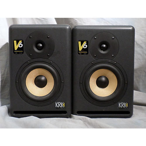 KRK V6 Pair Powered Monitor