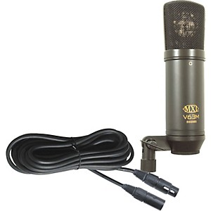 MXL V63M Condender Studio Microphone with Mogami Microphone Cable by MXL