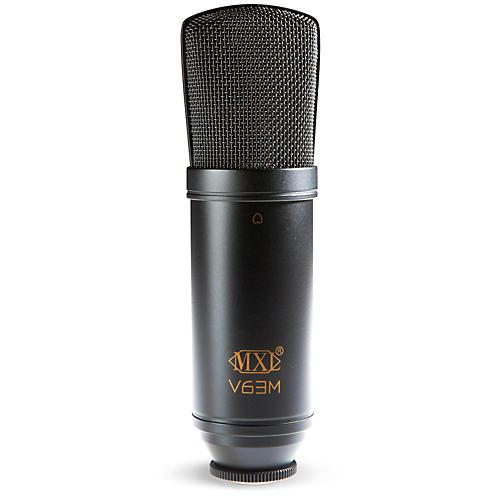 MXL V63M Condenser Studio Microphone with Shockmount
