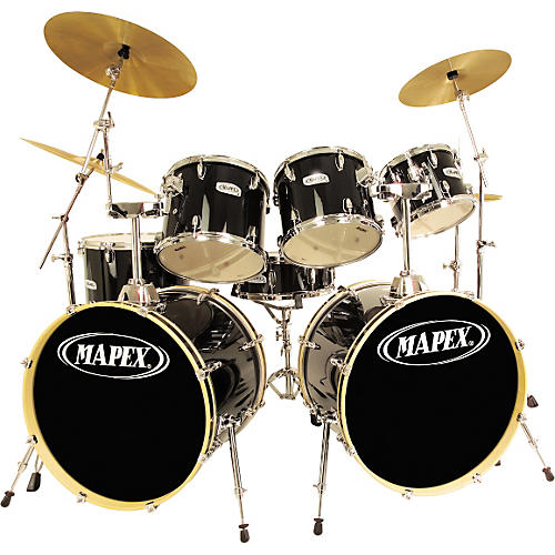 Mapex V7 Double Bass 7-Piece Drum Set