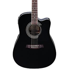 ibanez v70ce acoustic electric guitar transparent blue guitar center. Black Bedroom Furniture Sets. Home Design Ideas