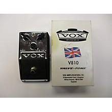 Vox V810 Valve-Tone Effect Pedal