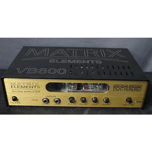 used matrix elements vb800 tube guitar amp head guitar center. Black Bedroom Furniture Sets. Home Design Ideas