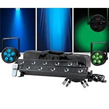 American DJ VBAR Pak with Venue ThinTri38 Pair Lighting Package