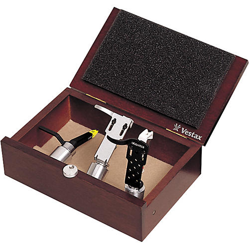 Vestax VCC-3W Wood 3 Cartridge Case