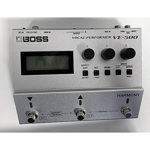 BOSS VE500 Vocal Performer Vocal Processor