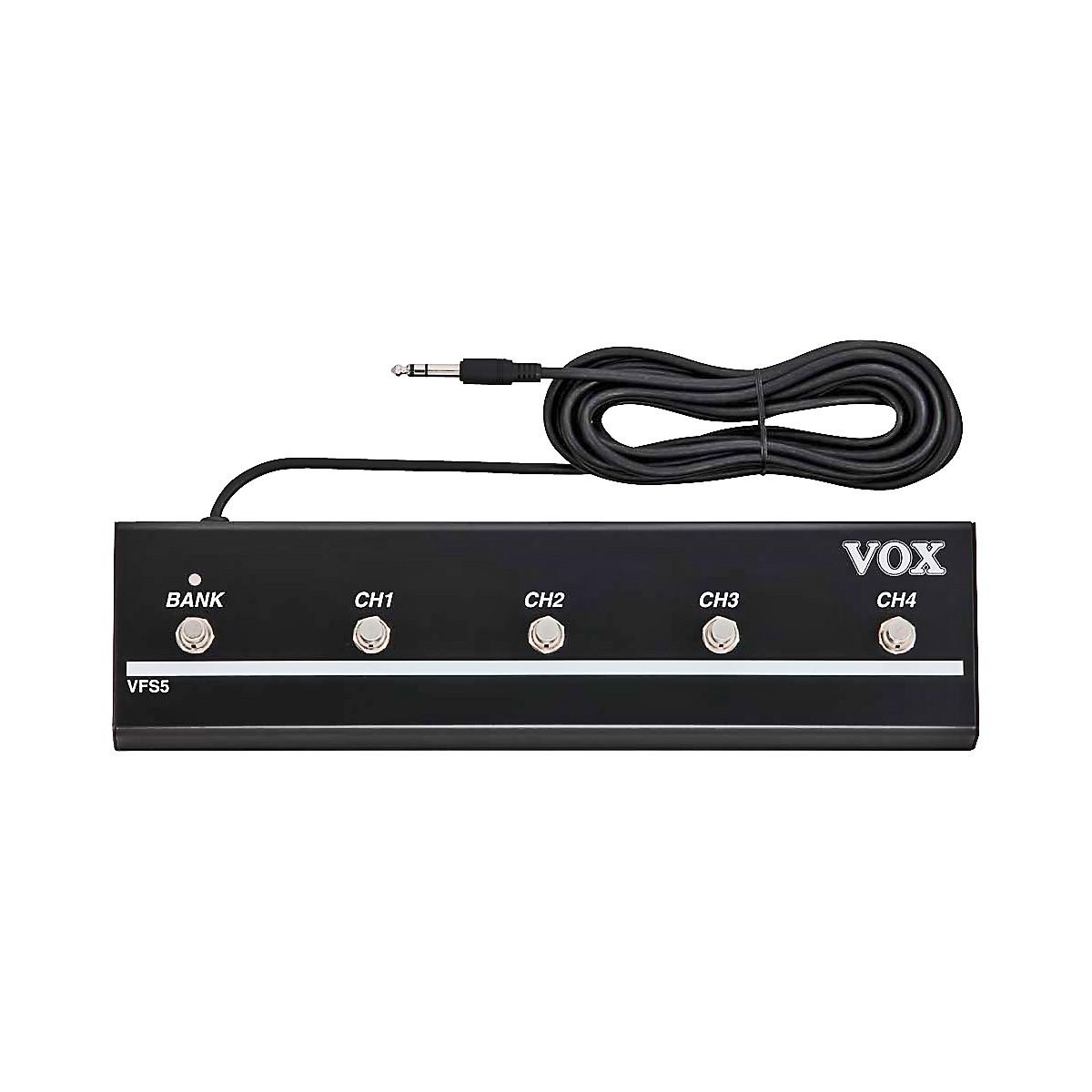 Vox VFS5 5-Button Footswitch