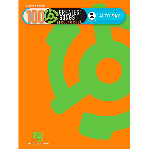 Hal Leonard VH1's 100 Greatest Songs Of Rock & Roll Alto Sax (Book Only)