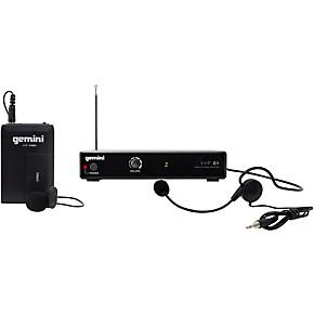 gemini vhf 01hl single headset lavalier wireless system band c8 guitar center. Black Bedroom Furniture Sets. Home Design Ideas